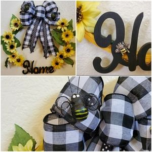 Bee Home wreath